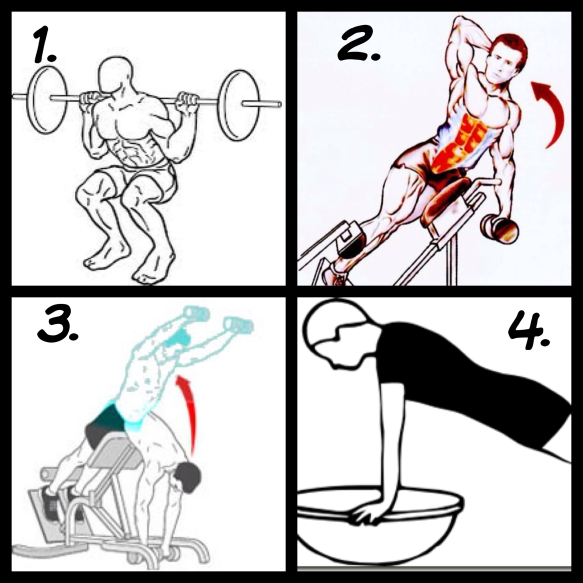 Core & Squat Circuit